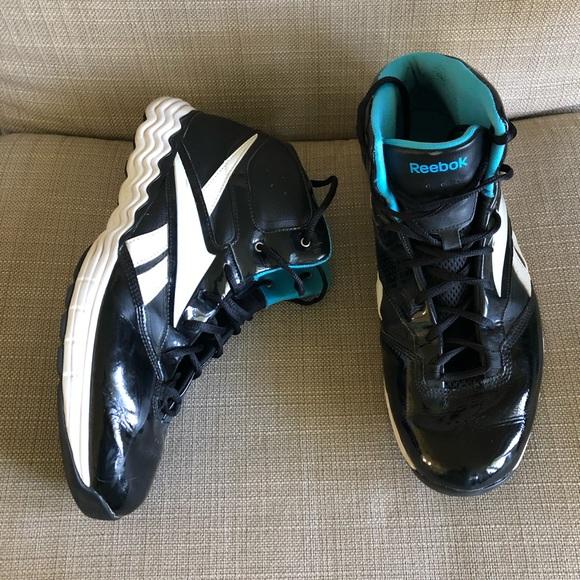 Reebok Men's Blacktop Battleground Basketball Shoe, 11.5 M US